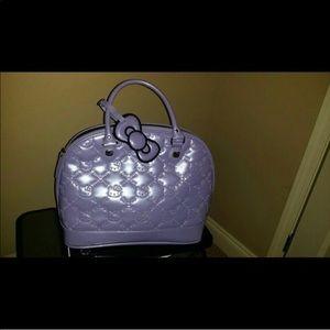 Lavender Hello Kitty Purse